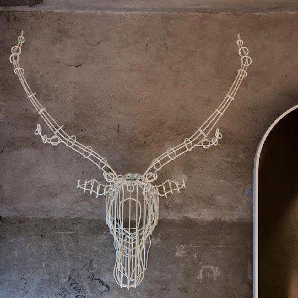 SMALL STAG HEAD WALL ART BY BAREL - Luxxdesign.com
