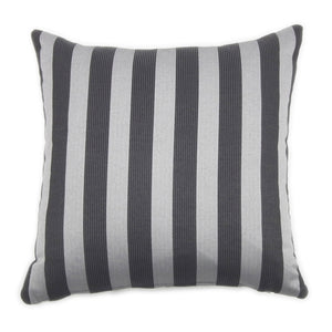 GLAMOROUS GREY CARRE' CUSHION 43x43 BY L'OPIFICIO - Luxxdesign.com - 3
