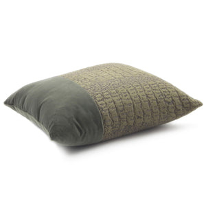 MIMETICO CARRE' CUSHION 43x43 BY L'OPIFICIO - Luxxdesign.com - 1