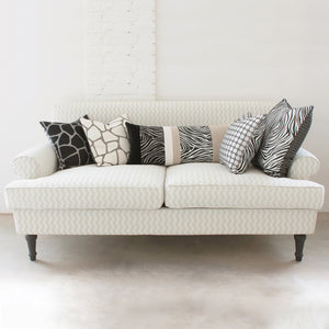 GLAMOROUS GREY CARRE' CUSHION 43x43 BY L'OPIFICIO - Luxxdesign.com - 4