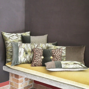 MIMETICO CARRE' CUSHION 50x50 BY L'OPIFICIO - Luxxdesign.com - 1