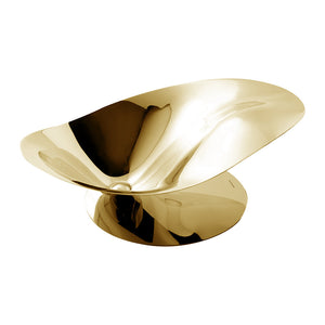 GOLD PETALO FRUIT BOWL