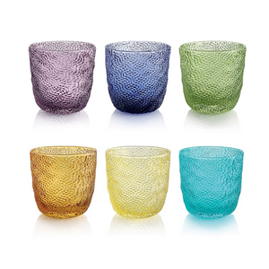 TRICOT SET OF 6 WATER GLASSES