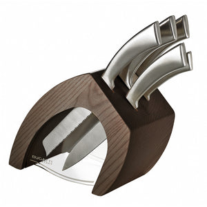 VIRGOLA KNIFE BLOCK BY CASA BUGATTI - Luxxdesign.com - 1