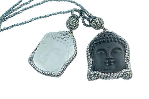 MY BUDDA WITHOUT A MOODA (Frosted Black) - shopclaudialobao