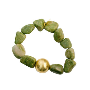 PEBBLES (Green Agate) - shopclaudialobao