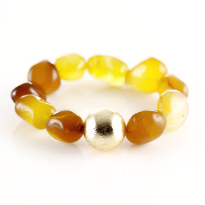 PEBBLES (Yellow Agate) - shopclaudialobao