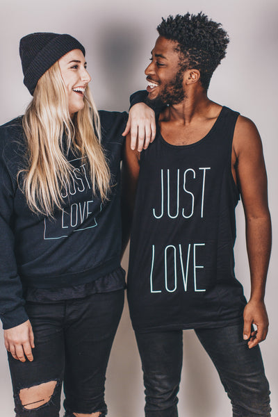 Just Love Tank - Black