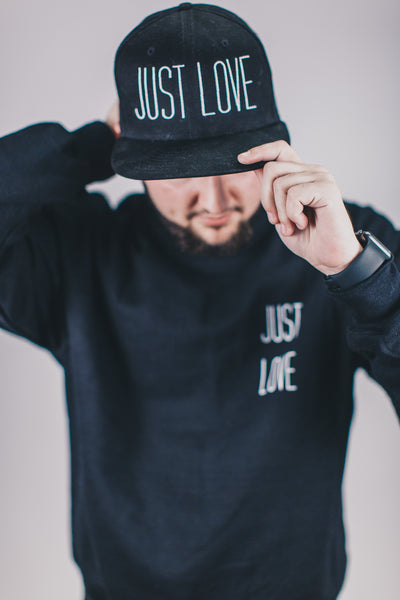 Just Love Snapback - Black