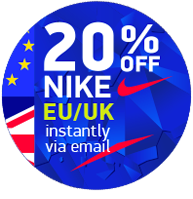 Get instant Nike discount codes via Email