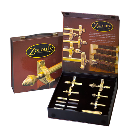 Zoroufy stair rod dealer kit