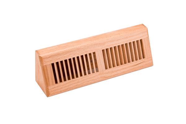 15 in Baseboard Diffusers Natural Finish