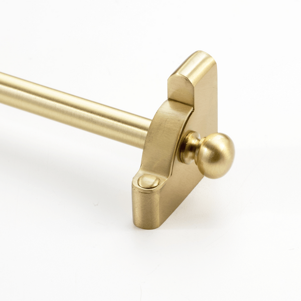 Heritage® Stair Rod Collection Solid Core Rod with Round Finials