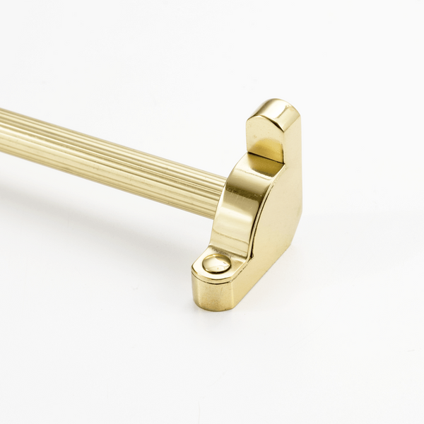 Heritage® Stair Rod Collection Fluted Tubular Without Finials