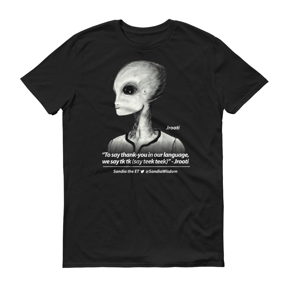 "Jrooti ""To say Thank You..."" Sandia the ET-Shirt (Mens black)"