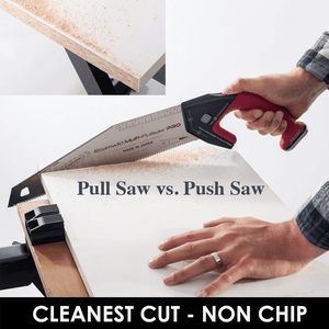 Why is a Pull Saw better than a conventional Push Saw?