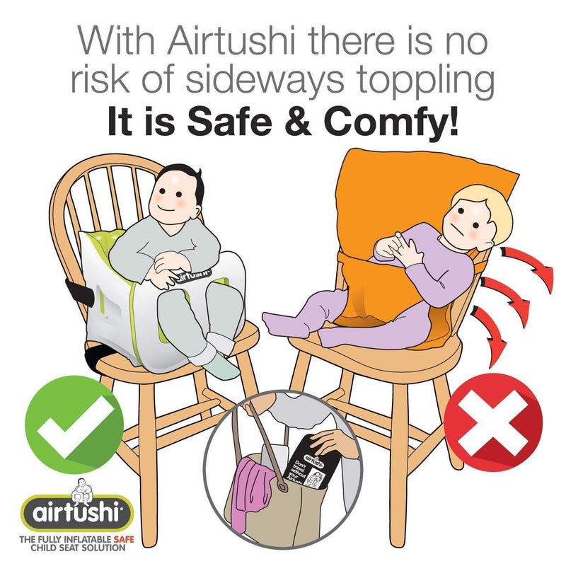 Roamwild Airtushi - The Inflatable Booster Seat