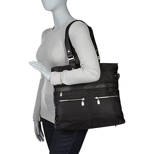 Elena Ladies Tote Bag by Baggallini - Black