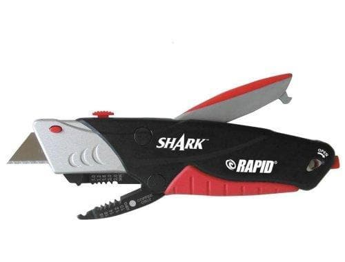 Rapid Shark Wire Stripper and Utility Knife Plus Extra Blades