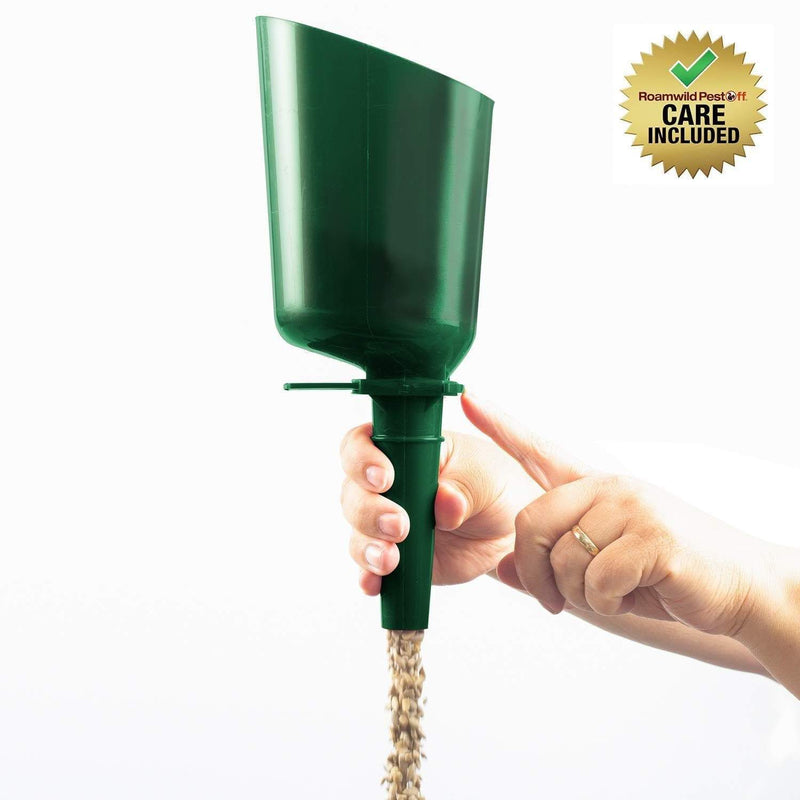 Roamwild Quick Release Automatic Bird Seed Scoop For Bird Feeders – Suitable For All Seed Types