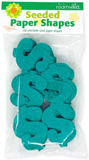 Roamwild Seeded Paper Shapes - Pack Of 100 (Green Dollar)