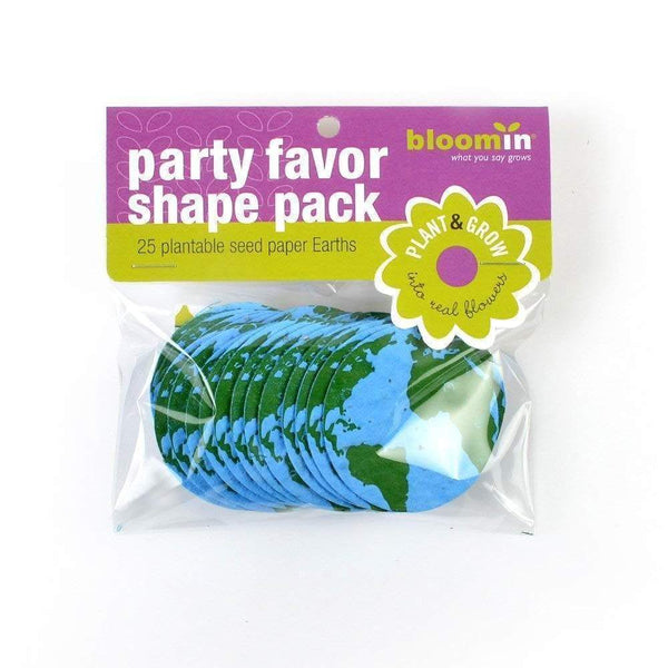 Bloomin Seed Paper Shapes Packs