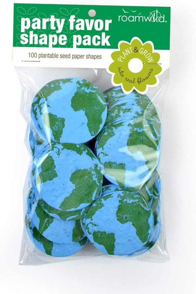 Roamwild Seeded Paper Shapes - Pack Of 100 (Earth)