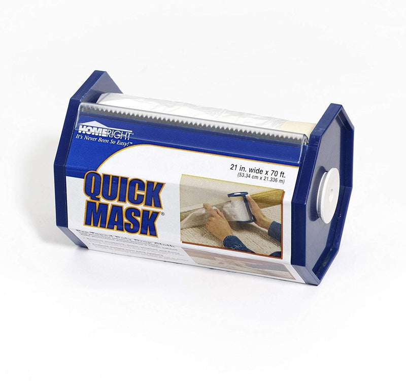 HomeRight Quick Mask Pre-Taped Poly Drop Cloth