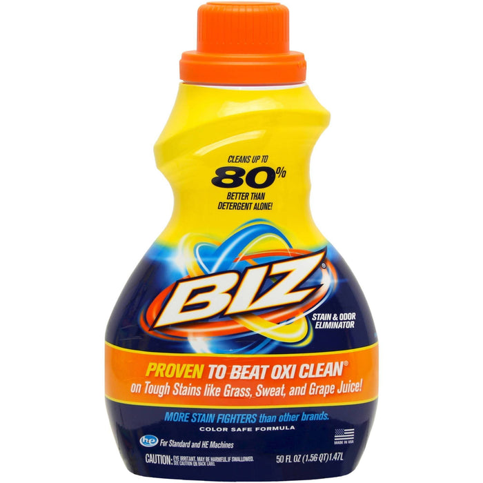 Biz Stain and Odour Eliminator 32 FL OZ | PROVEN TO BEAT VANISH