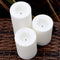 Amazing Value - 6 x  Battery Operated Candles With Timer - Indoor/Outdoor