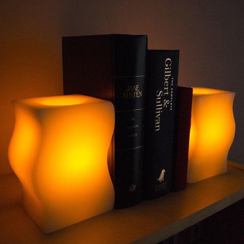 bookend candles