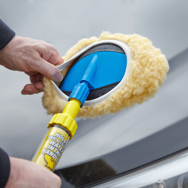 Autowashstick - The Fastest Car Washing Brush - Long Reach