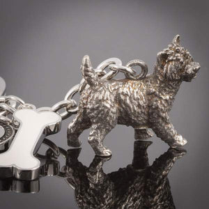 Small Breeds - High Detailed Dog Metal Animal Keyring
