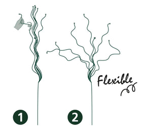 Peacock Twiggy Flexible Plant Support for Plant/ Bushes/ Shrubs/ Small Trees - 1M / 3ft tall