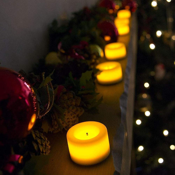 bright tealights