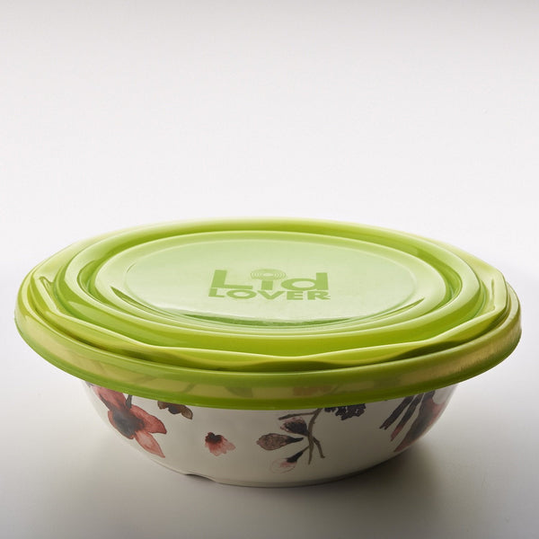 LidLover Combo - Snug Seal For Food, Protects Food & Makes Transporting a Breeze