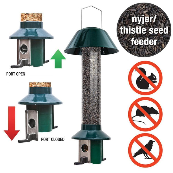 2 x Roamwild PestOff Squirrel Proof Bird Feeders - SAVE 10% - Brilliant Value