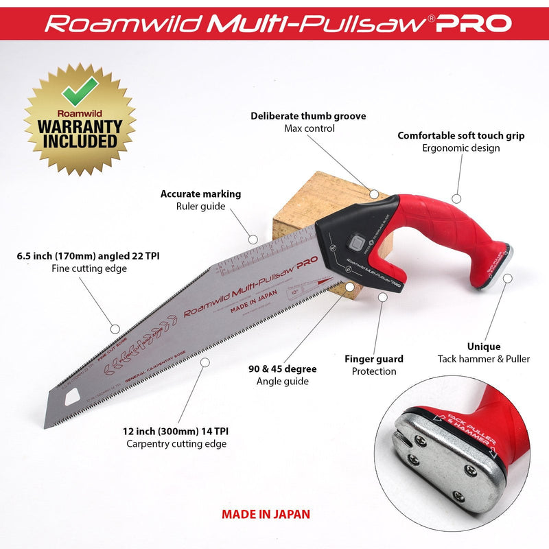roamwild multi pull saw
