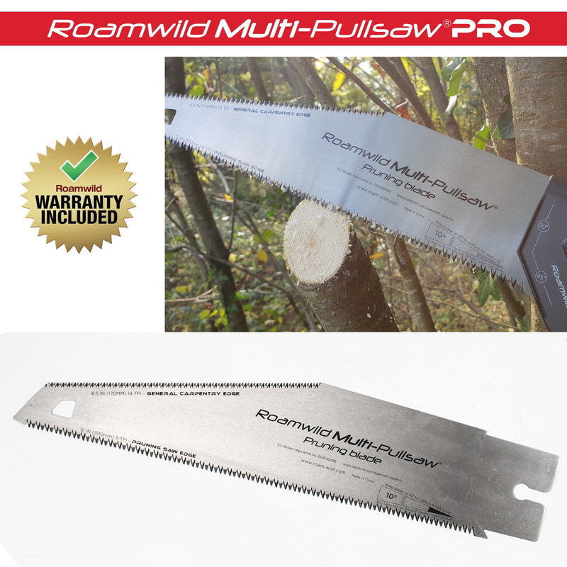 Roamwild Multi Pull Saw PRO - 2 Pull Saws In 1