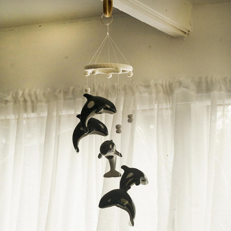 Whale Wind Chime - Hand Crafted Ornamental Wind Chime