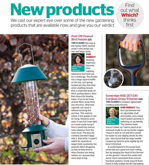 which magazine pestoff bird feeder review
