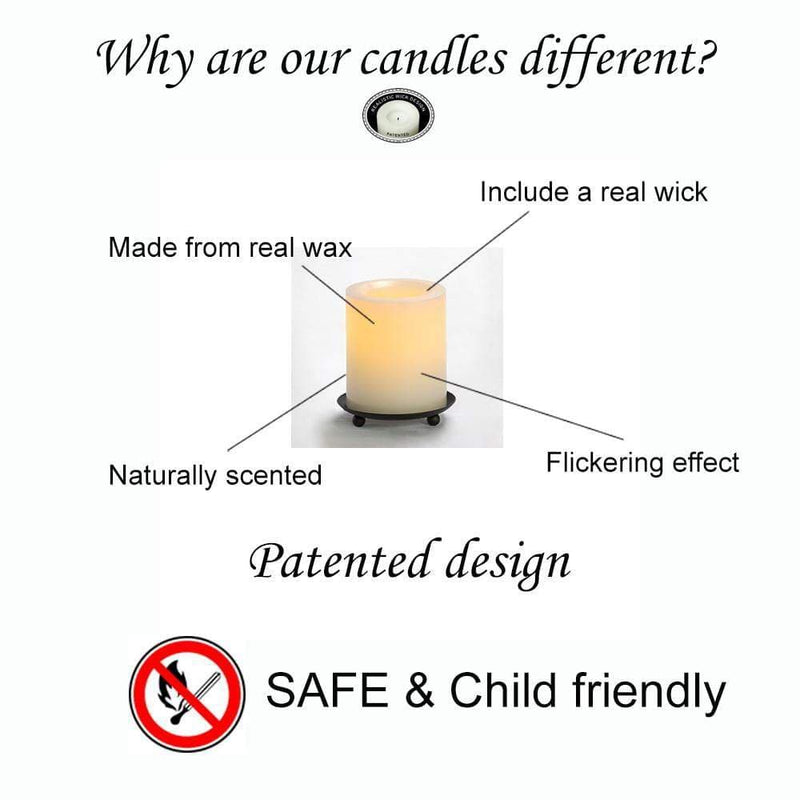 small real wax candles