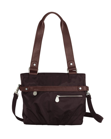 Ladies Kathryn Tote in Brown - Baggallini