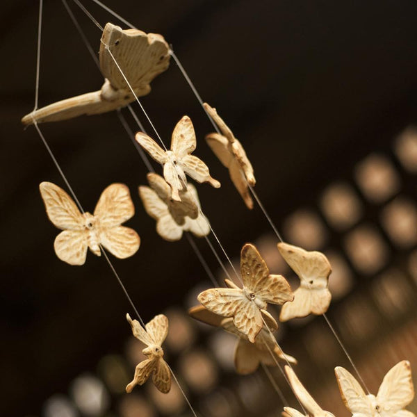 Butterfly Wind Chime - Hand Crafted Ornamental Wind Chime