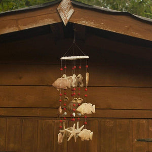 Sea Life Wind Chime - Hand Crafted Ornamental Wind Chime