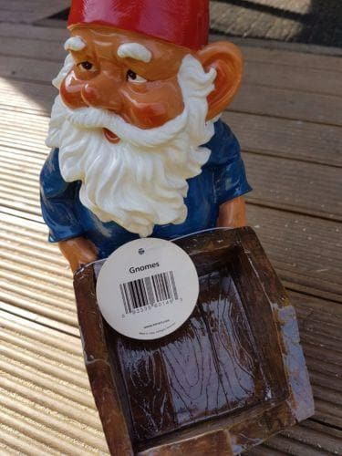 Garden Gnome with Wheelbarrow - Exhart