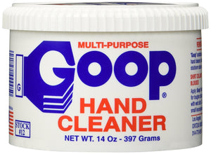 Goop Hand Cleaner, Cleans The Grimiest Hands and is a Laundry Stain Lifter