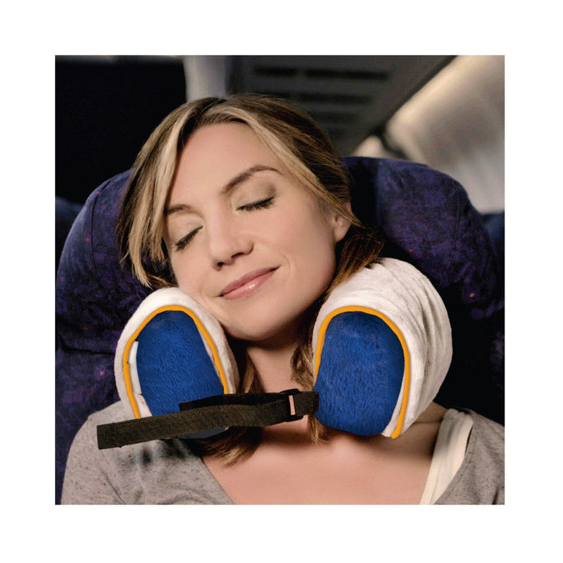 Roamwild Surround Travel Pillow AIR | Inflatable Neck Support Pillow with Fully Adjustable Side Supports