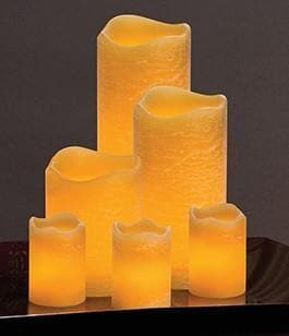 honey candle display
