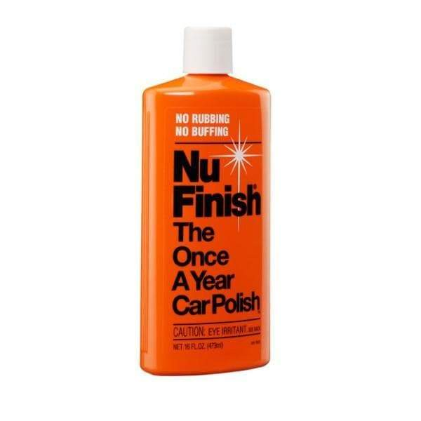 Nu Finish Car Polish - The only once a year car polish